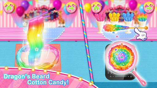 Unicorn Chef Carnival Fair Food: Games for Girls 1.6 screenshots 2