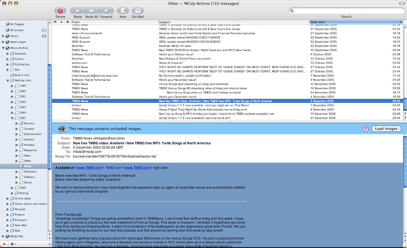 이메일 내용 보기 인터렉션 설계