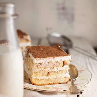 Easy Tiramisu with Pound Cake.
