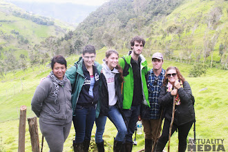 Photo: The FCT crew on the move in Sangay National Park