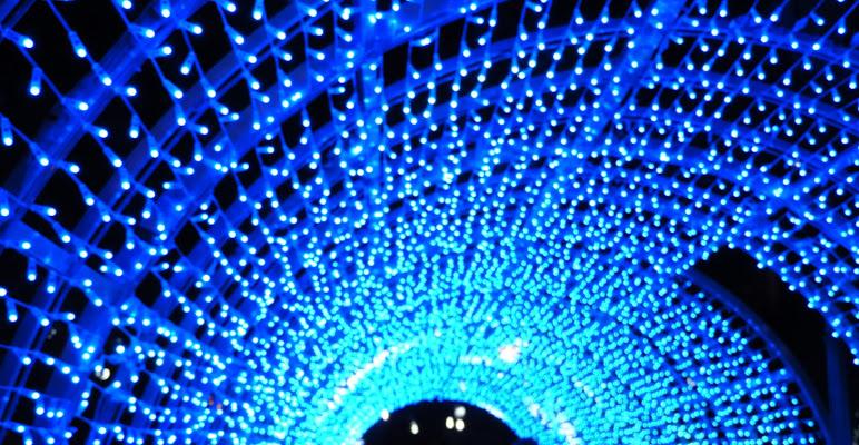Il tunnel blu. di claudio_sposetti