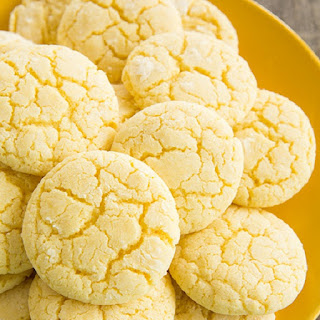 Oven Baked Lemon Wafers