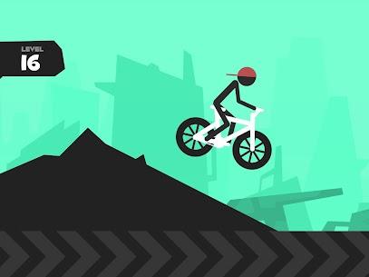 Wheelie Stickman Rider 8