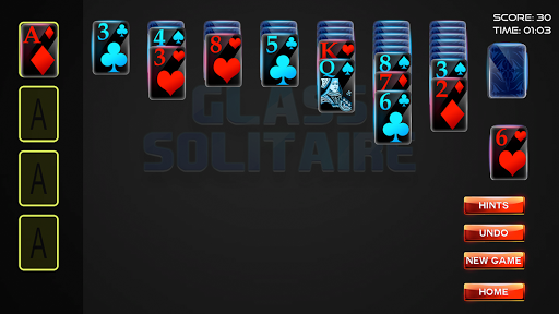 Glass Solitaire 3D screenshot