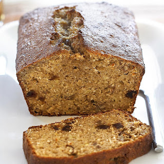 Banana, Date and Pecan Nut Bread