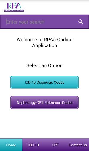 RPA's Diagnosis Coding App