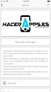 Download Hacerapps - Crea tu app For PC Windows and Mac apk screenshot 2
