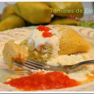 Easy Sweet Corn Tamales.