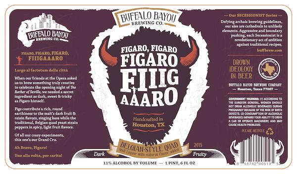 Logo of Buffalo Bayou Figaro, Figaro, Fiiigaaaro