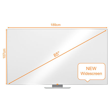 Whiteboard Nobo Widescreen 85""