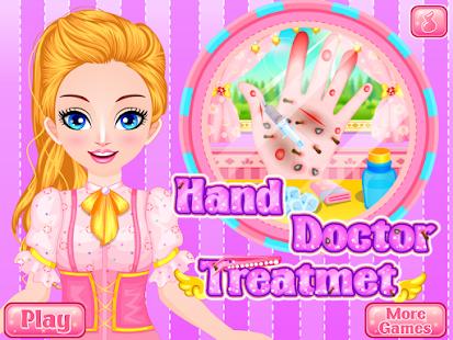 Cô gái trò chơi cầm tay bác sĩ Mod