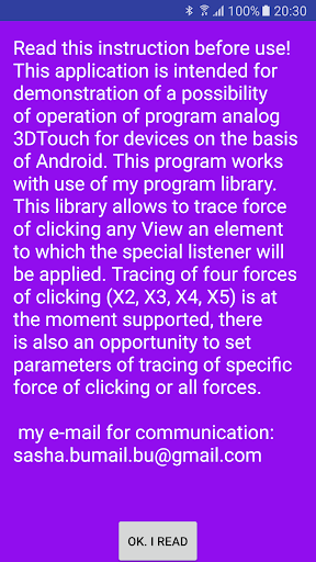 Touch3D Demo