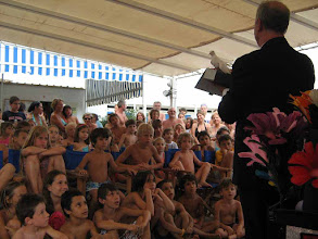 Photo: Il pubblico durante lo spettacolo di Mr.Bright - estate 2008
