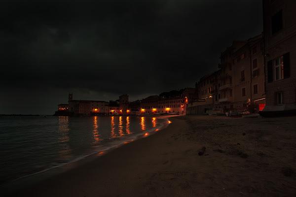 temporale notturno sulla baia del silenzio di angelo27