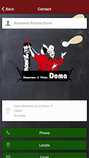 SHAWERMA & PIZZERÍA DOMA- screenshot thumbnail