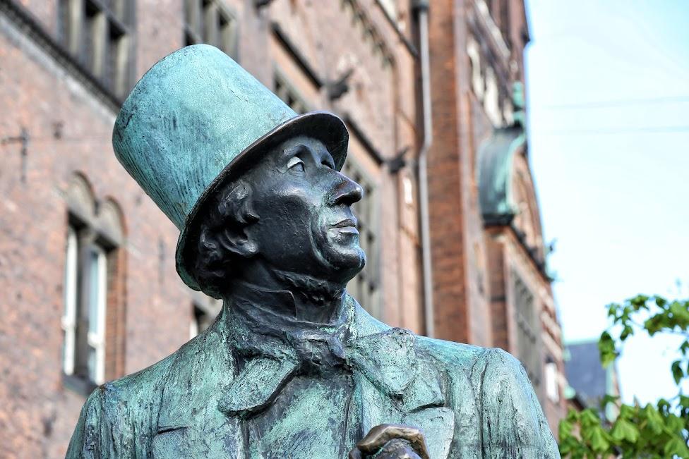 Kopenhaga, pomnik Andersena