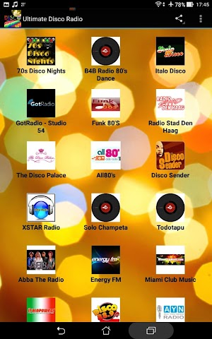 android Ultimate Disco Radio Screenshot 0