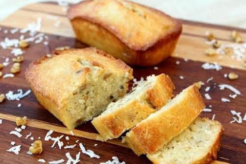 """Click Here for Recipe: Coconut Brunch Bread """"Two days ago I decided..."""