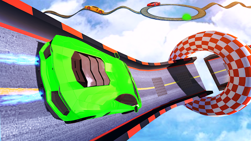 Impossible Track Car Driving Games: Ramp Car Stunt apkmr screenshots 2
