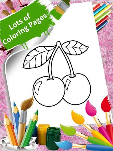 Download Fruits Vegetables Coloring Book Free For Android Fruits Vegetables Coloring Book Apk Download Steprimo Com