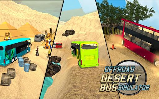 Offroad Desert Bus Simulator apktram screenshots 2