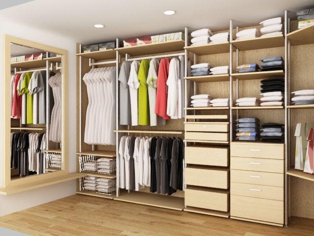 Tính toán kỹ lưỡng về diện tích phòng thay đồ