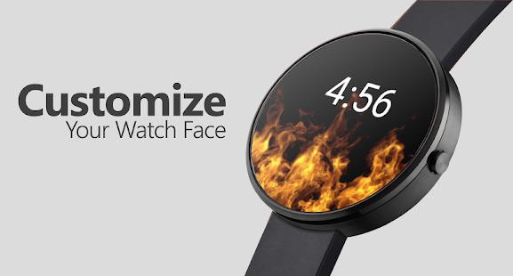 Flames Watch Face - Smartwatch