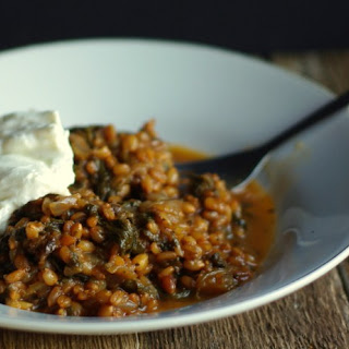 Wheat Berry Pilaf