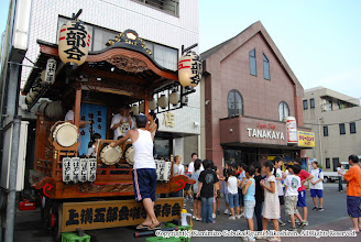 Photo: 【平成19年(2007) 宵々宮】 お囃子の総仕上げ練習に集まった子供たち。