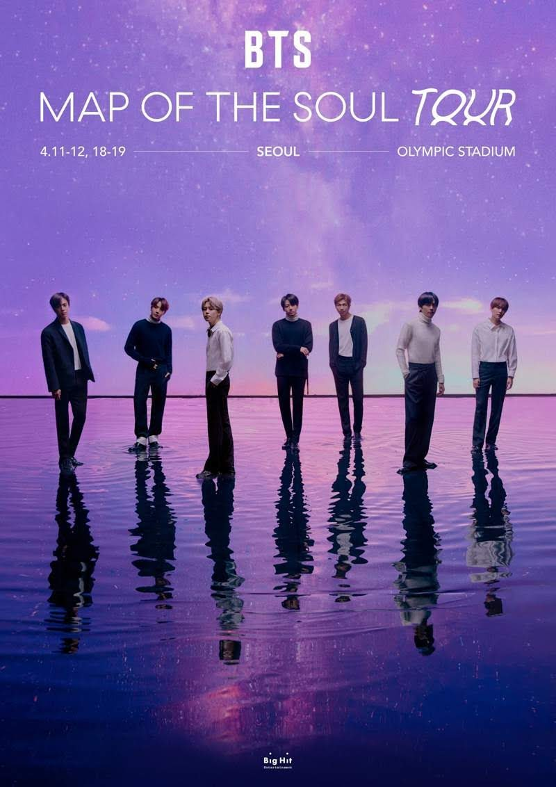Big Hit Entertainment Announces about rescheduleof BTS  the Map of the Soul