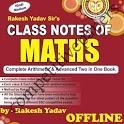 Rakesh Yadav Class Notes of Maths in Hindi Offline icon