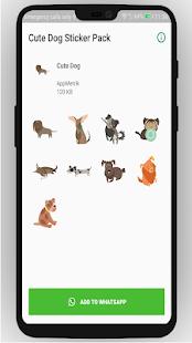 Download Cute Dog WA Stickers For PC Windows and Mac apk screenshot 1