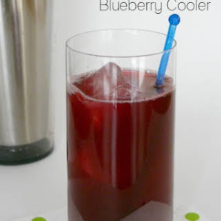 Low Carb Blueberry Cooler.