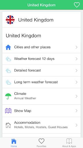 玩天氣App|英国的天气,预报气候旅游指南免費|APP試玩