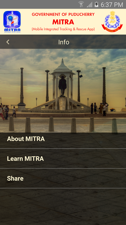 MITRA- screenshot