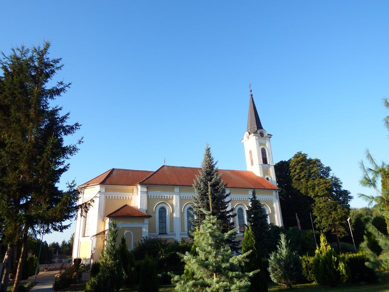 Agyagosszergény - Szent László király rk. templom