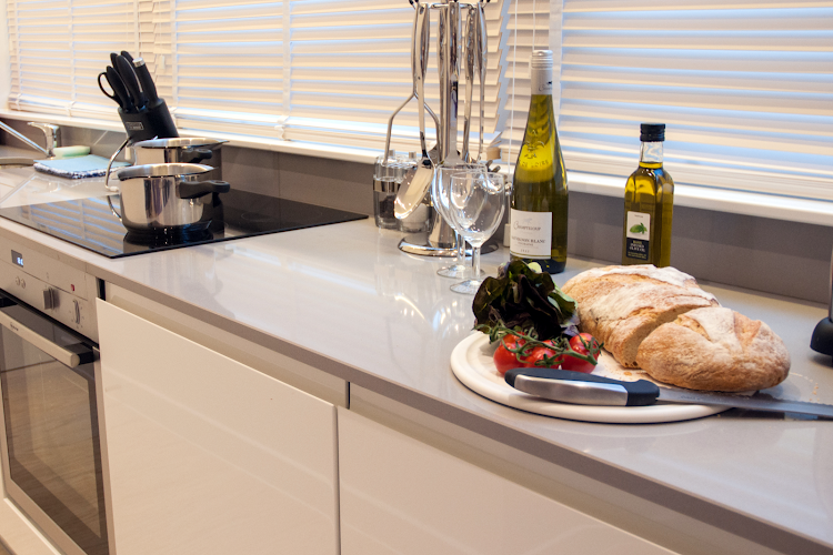 Fully equipped kitchen at West Street Apartments, Covent Garden