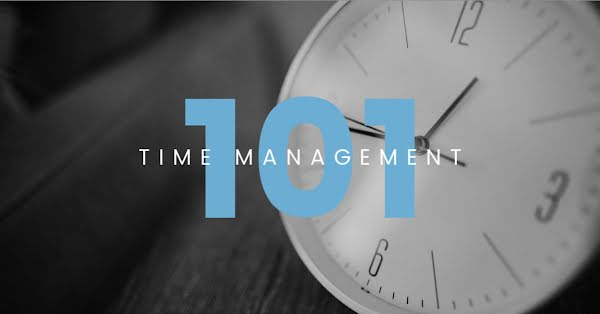Time Management 101 - Facebook Event Cover Template