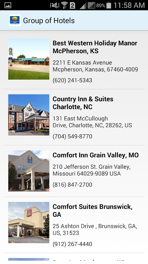 Comfort Inn Grain Valley MO- screenshot