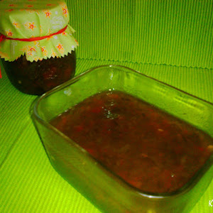 Roasted Green Pepper Jam