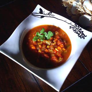 Sopa de Verdura y Quinoa