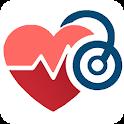 Blood Pressure Tracker & Checker- Cardio journal icon