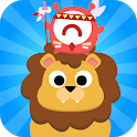 CandyBots Animal Friends 🦁 Puzzle Games for Kids icon