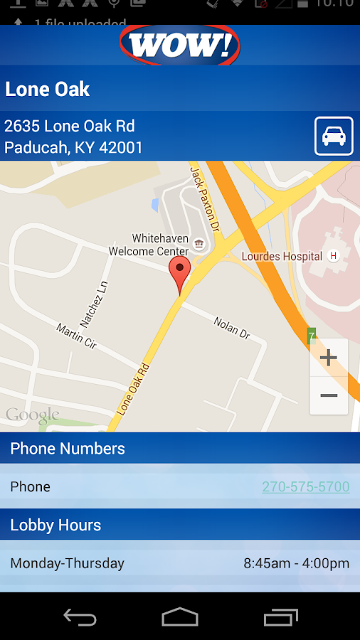 Paducah Bank Mobile- screenshot