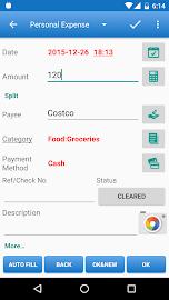 Expense Manager Screenshot 2
