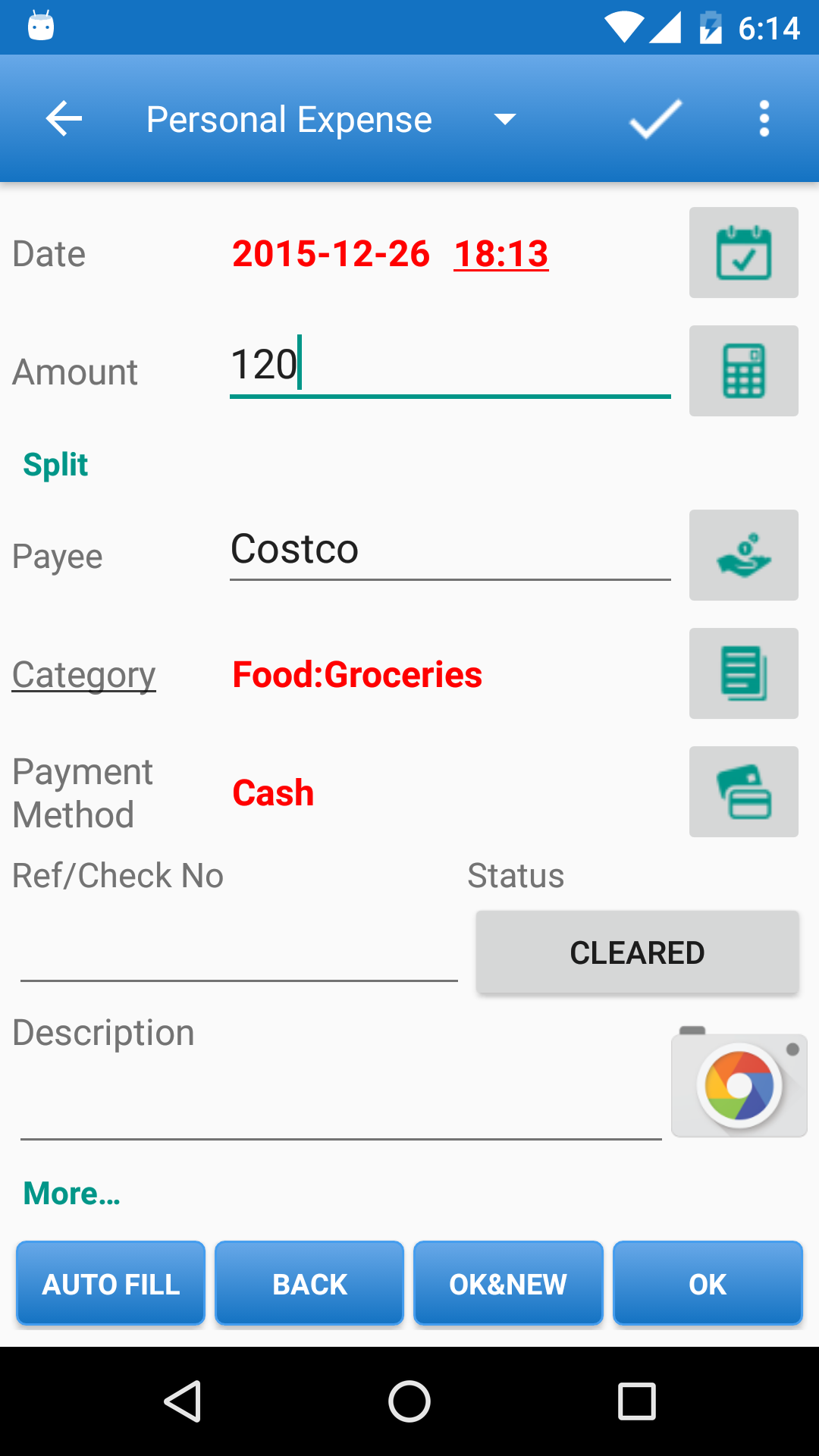 Expense Manager screenshot #2