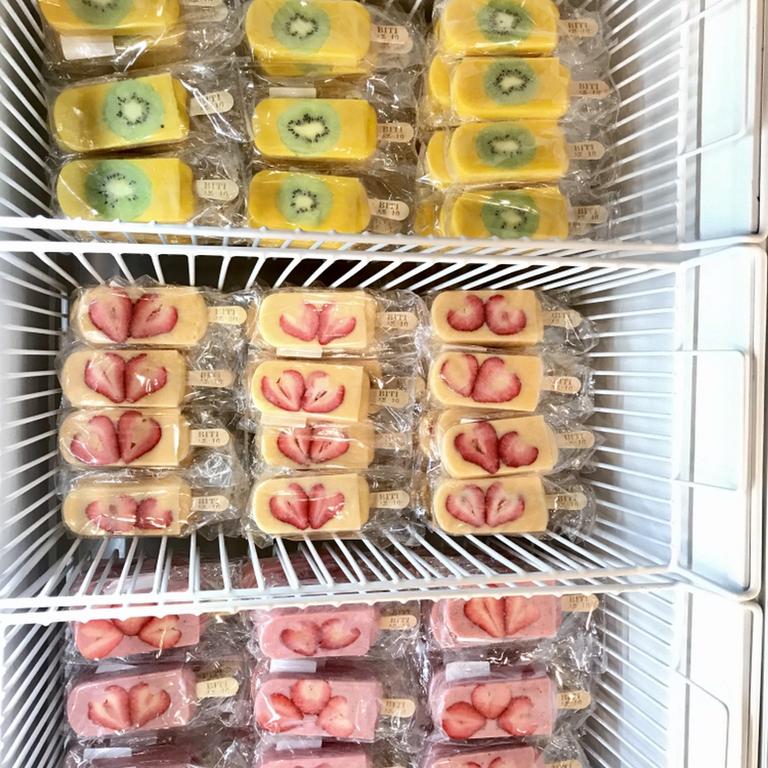 BITI 比褆鮮果雪條 - BITI水果冰棒~ 100%水果新鮮水果打成果泥,咬的到果肉,嚐的到新鮮