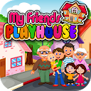 My Pretend House - Kids Family & Dollhouse Games APK