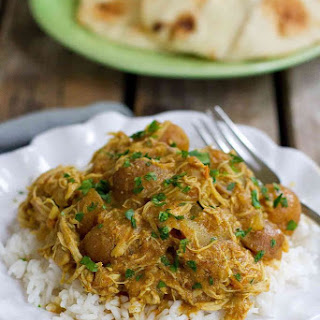 Instant Pot Chicken Curry Recipe with Potatoes.