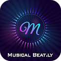 Musical Beat Video Maker icon